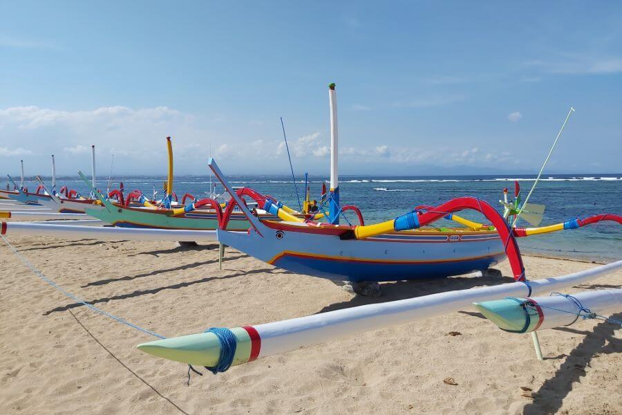 Dag 1: Aankomst Sanur, Bali