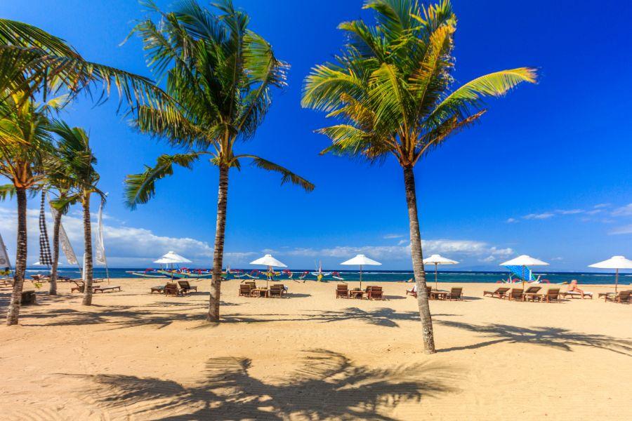 Indonesie Bali Sanur Strand 1