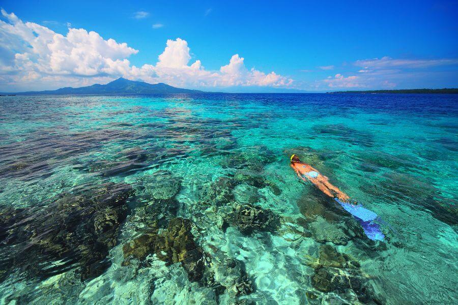 Indonesie Bali Snorkelen