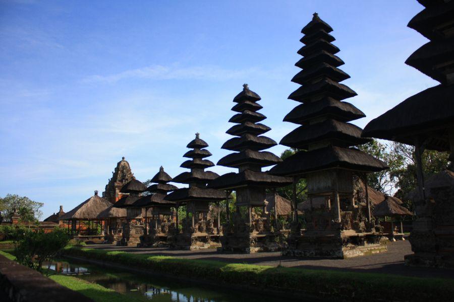 Indonesie Bali Taman Ayun tempels
