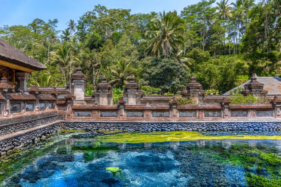Indonesie Bali Tampaksiring fontein
