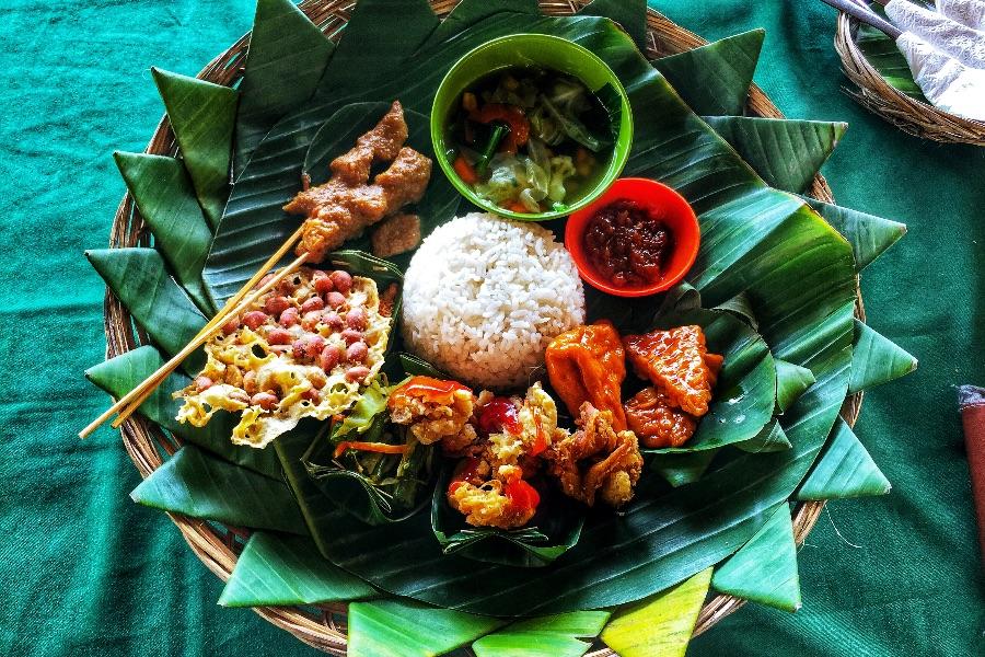 Indonesie Bali Typische indonesische gerechten