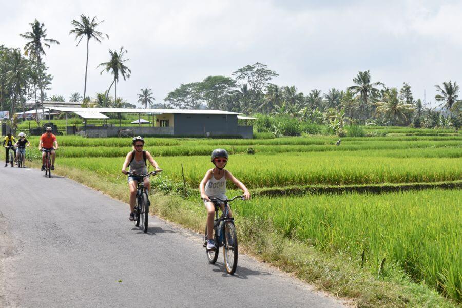 Indonesie Bali Ubud fietsen 1