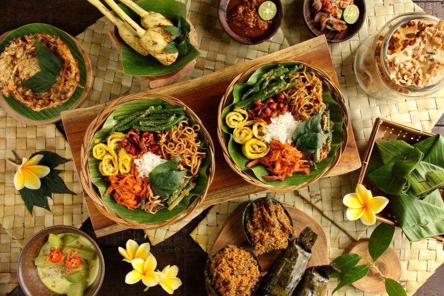 Indonesie Bali indonesische gerechten. 1