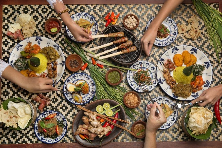 Indonesie Bali indonesische gerechten