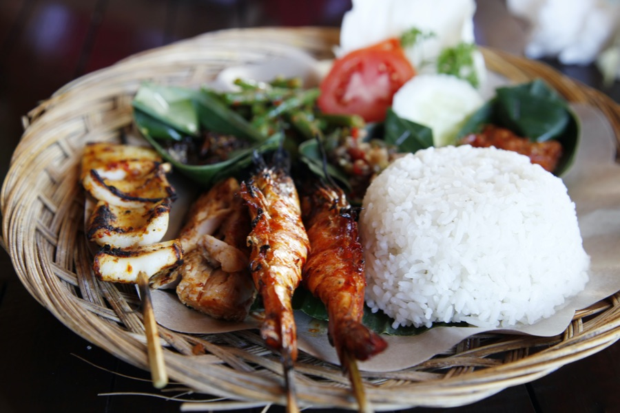 Indonesie Bali seafood