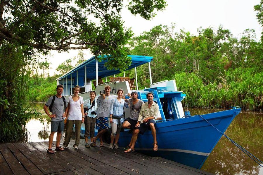 Dag 1: Pangkalan Bun – Kumai Port – Tanjung Harapan