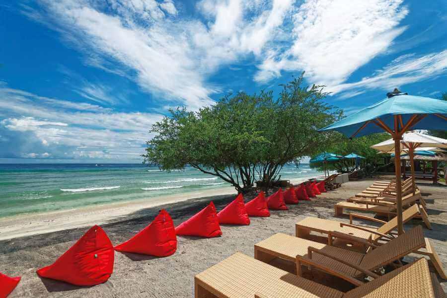 Indonesie Hotel Jambuluwuk Oceano Resort Beach View 02