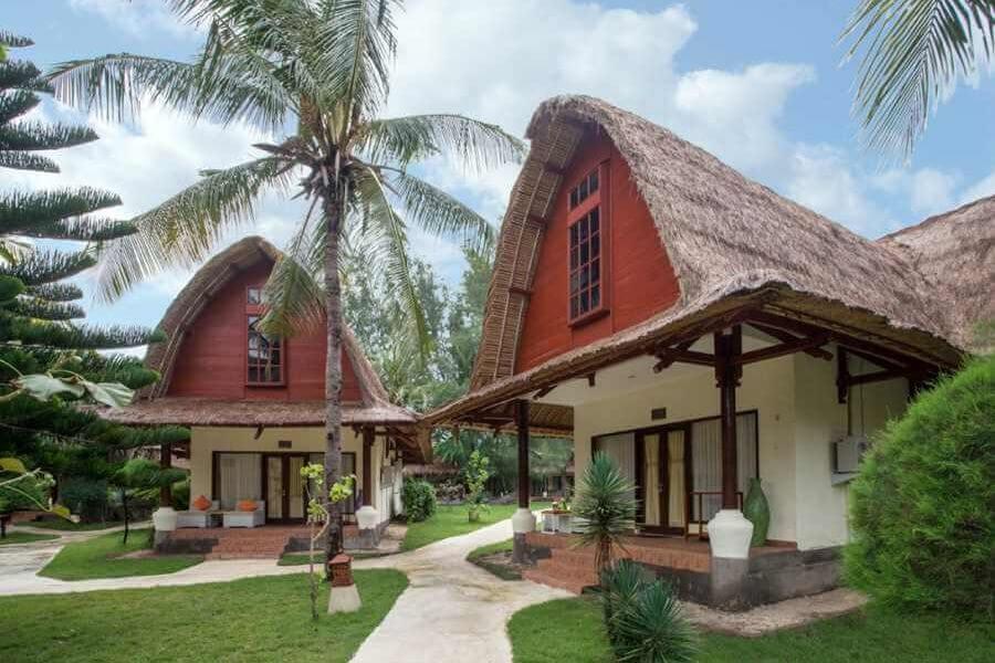 Indonesie Hotel Jambuluwuk Oceano Resort Supperior Lumbung Villa 10