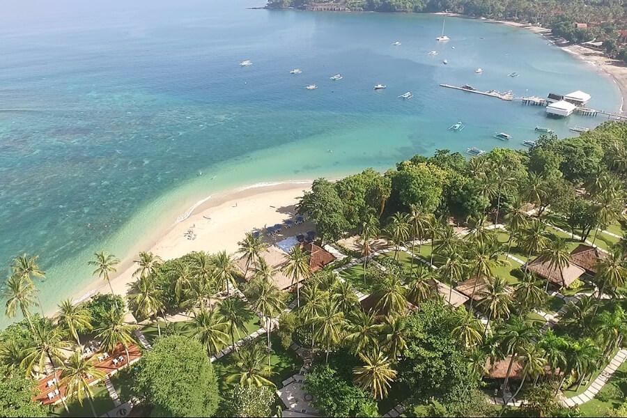 Indonesie Hotel Lombok Kila Senggigi Aerial View 01