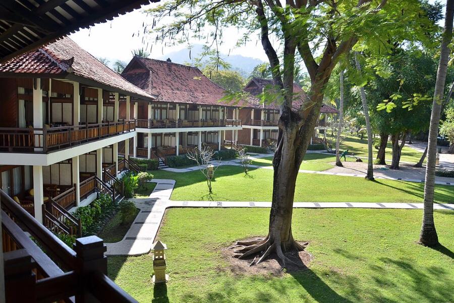 Indonesie Hotel Lombok Kila Senggigi Sea view rooom