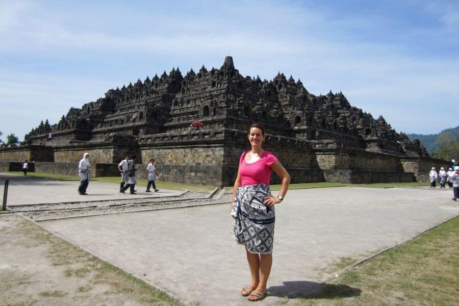 Dag 4: Jogjakarta (Borobudur fietstour)