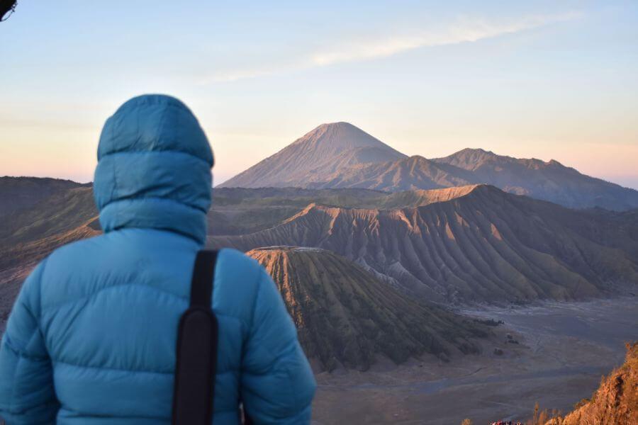 Indonesie Java Bromo uitzicht