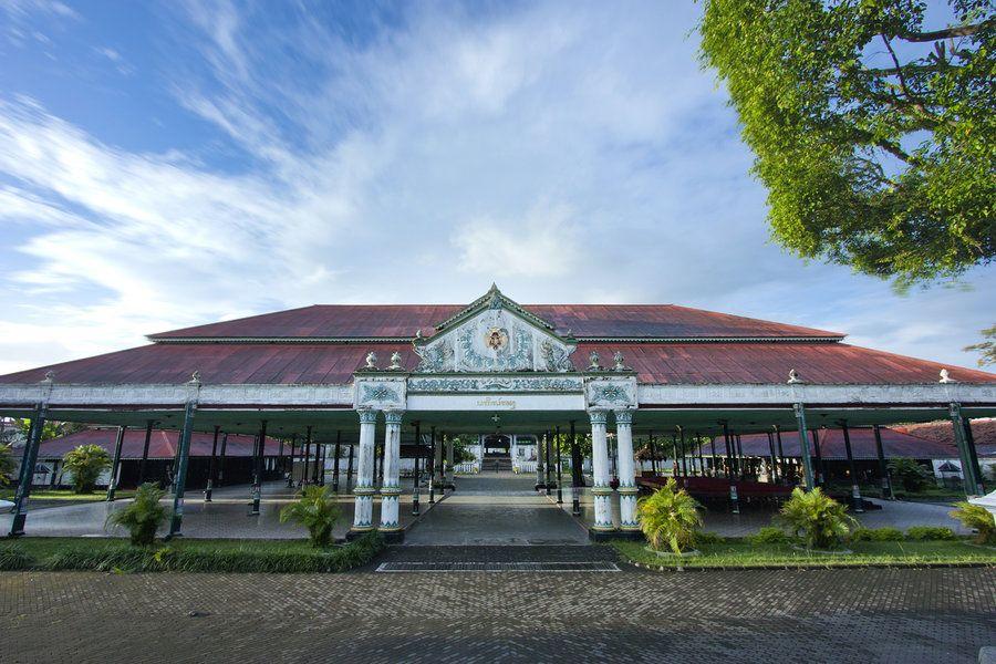 Indonesie Java Jogjakarta Kraton Palace