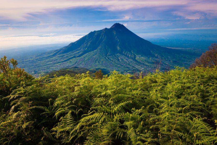 Indonesie Java Jogjakarta Mount Merapi