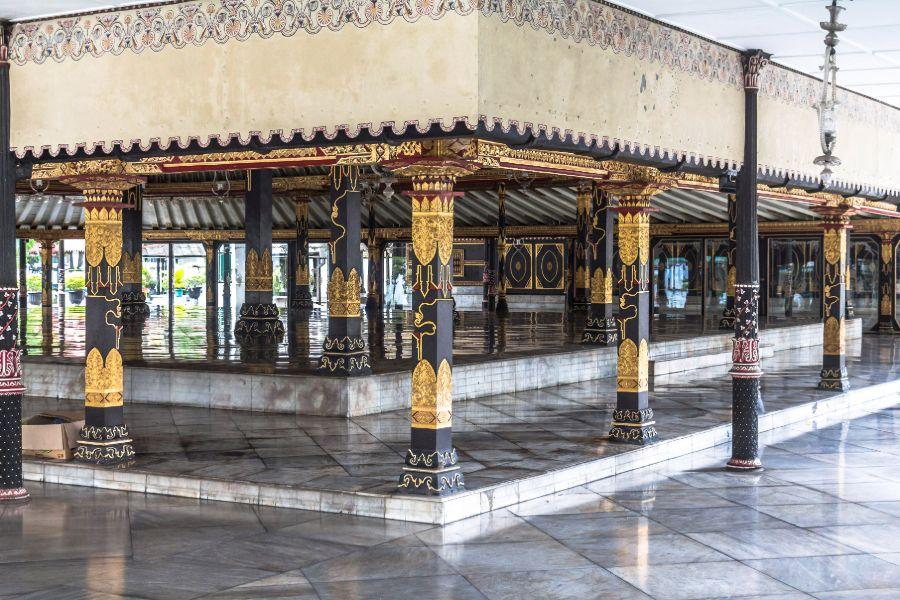 Indonesie Java Jogjakarta Paleis van de sultan