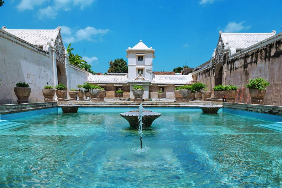 Indonesie Java Jogjakarta Taman Sari water kasteel
