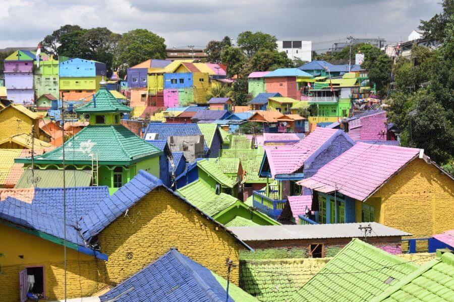 Indonesie Java Malang gekleurde hiuzen 01