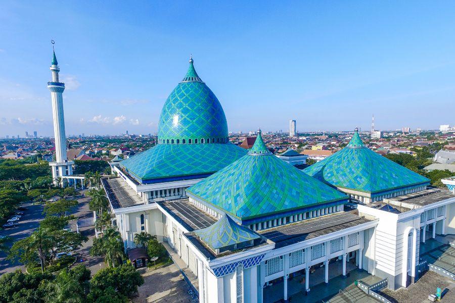 Indonesie Java Surabaya Moskee