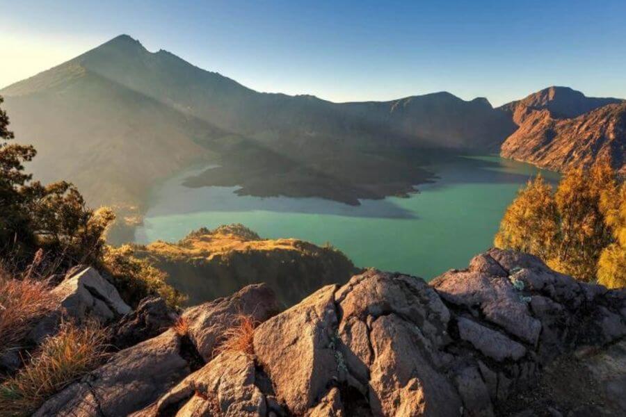 Indonesie Lombok Mt Rinjani trekking. 1