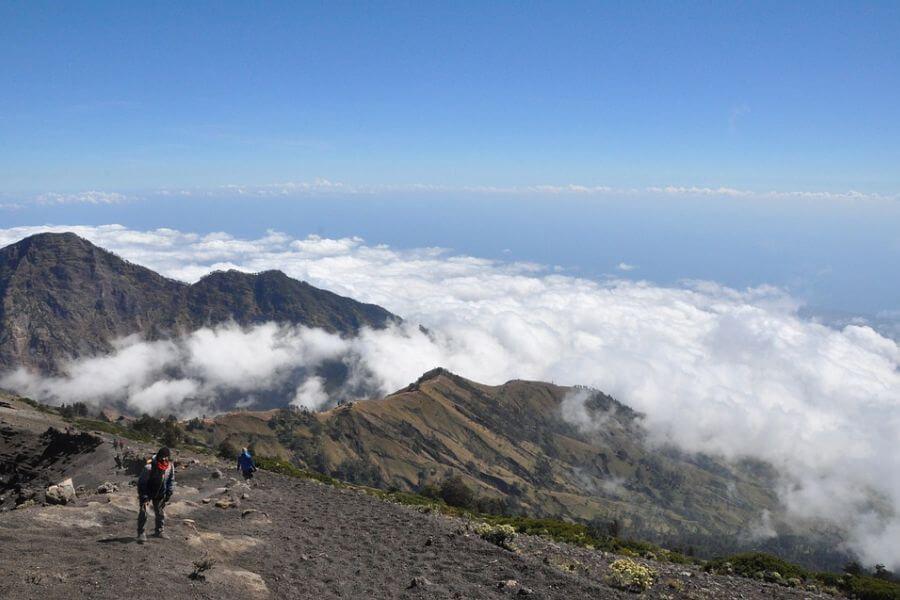 Indonesie Mt Rinjani trekking 17