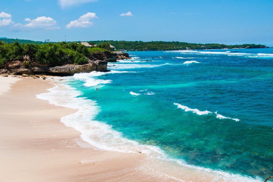 Indonesie Nusa Lembongan Dream beach