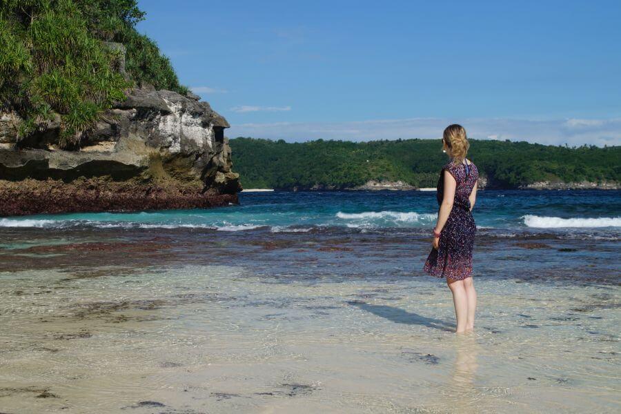 Indonesie Nusa Lembongan Zee