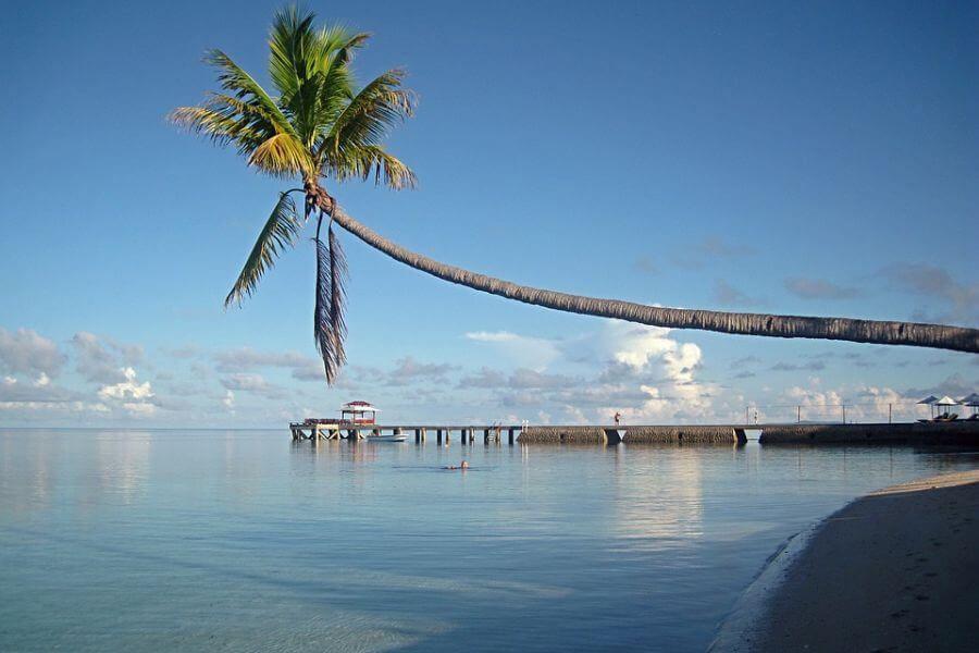 Indonesie Sulawesi Palau Bunaken strand
