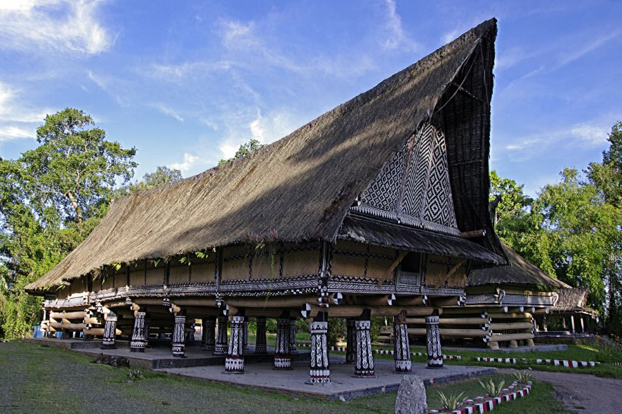 Indonesie Sumatra Rumah Bolon 1