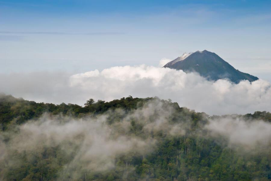 Indonesie Sumatra Sinabung vulkaan