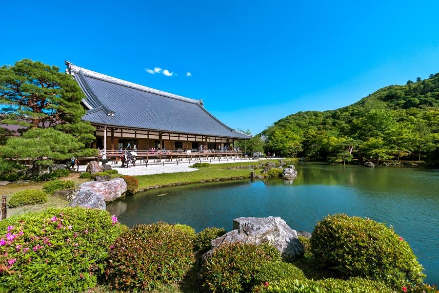 Japan Kyoto Arashiyama Tenryu ji Tempel