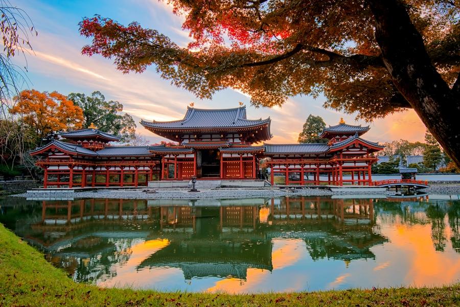 Japan Kyoto Byodo in Buddhist tempel