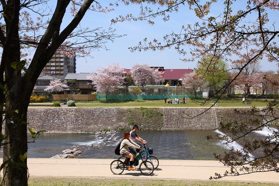 Japan Kyoto Fietsen 8