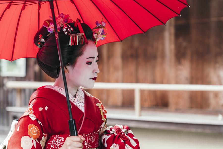 Japan Kyoto Gion Maiko geisha