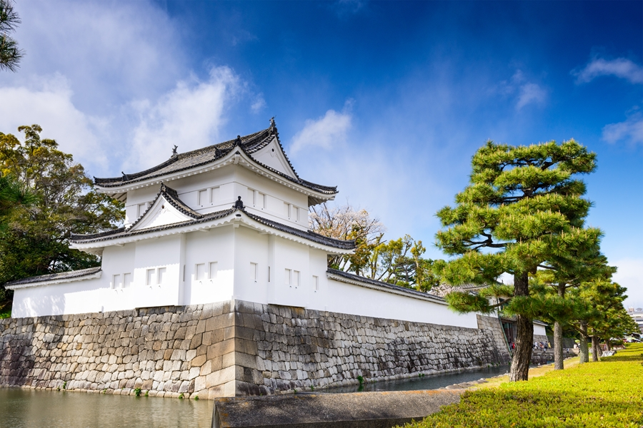 Japan Kyoto Nijo kasteel