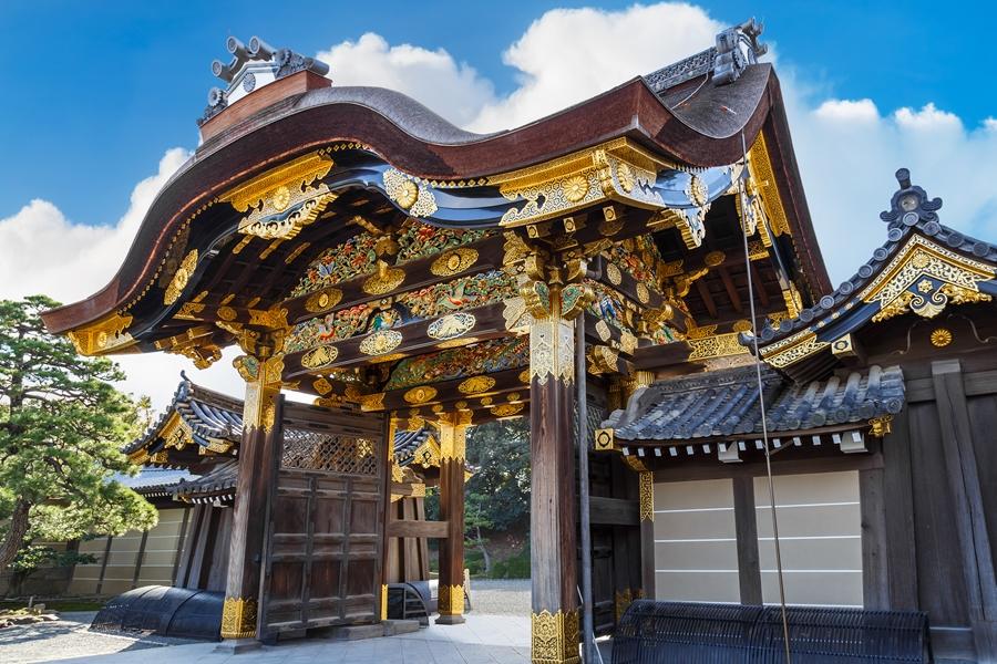 Japan Kyoto Ninomaru Palace van Nijo Castle