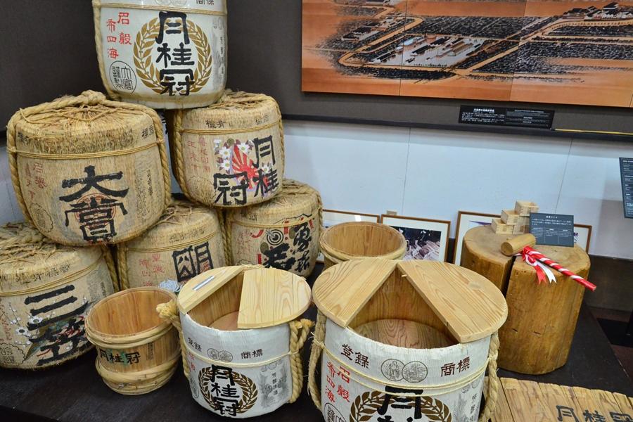 Japan Kyoto Sake Gekkeikan brouwerij