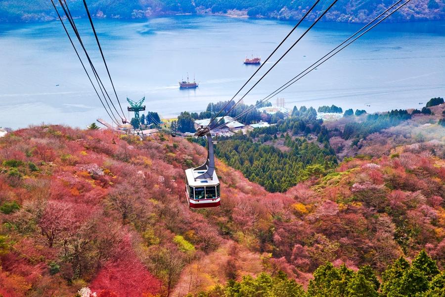 Japan Mount Fuji Mt Komagatake kabelbaan