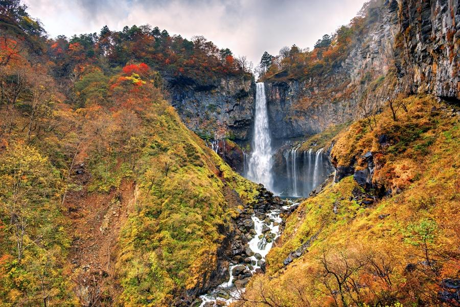 Japan Nikko Kegon Falls watervallen