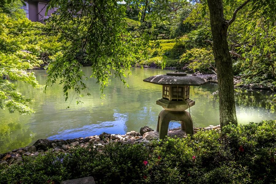 Japan Tokio Happo en tuin