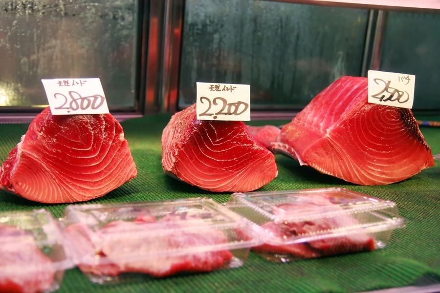 Japan Tokio Tsukji vismarkt tonijn 1