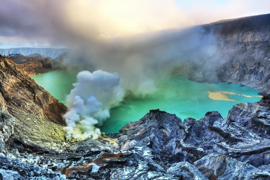 Java Ijen vulkaan