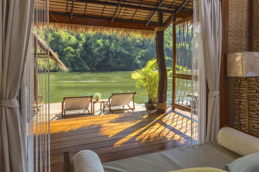 Kanchanaburi The Floathouse River Kwai Resort11
