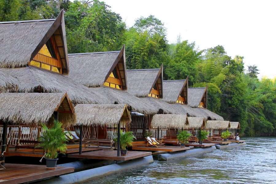 Kanchanaburi The Floathouse River Kwai Resort5