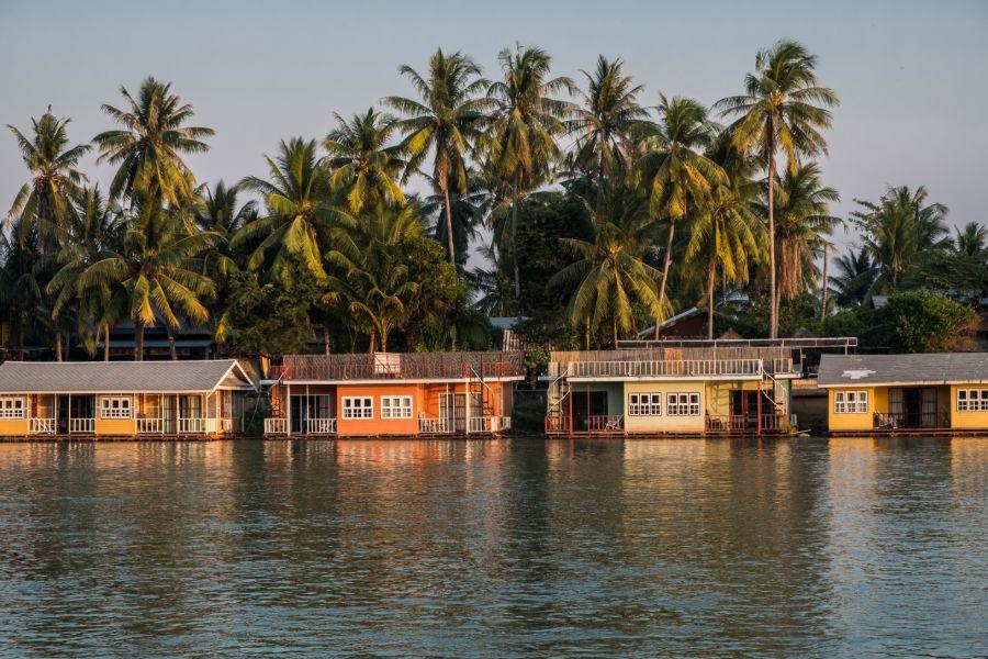 Laos Don Khone Island mekong rivier