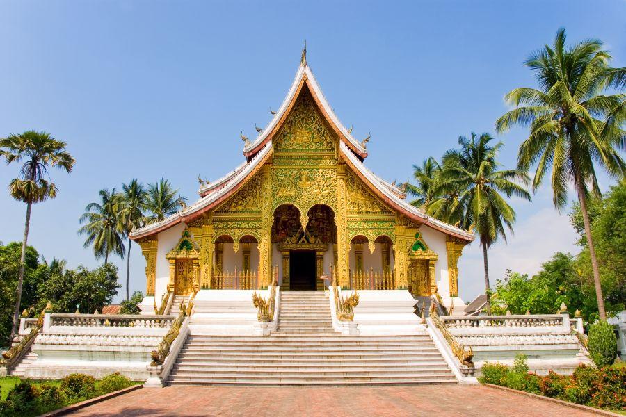 Laos Luang Prabang koninklijk paleis museum
