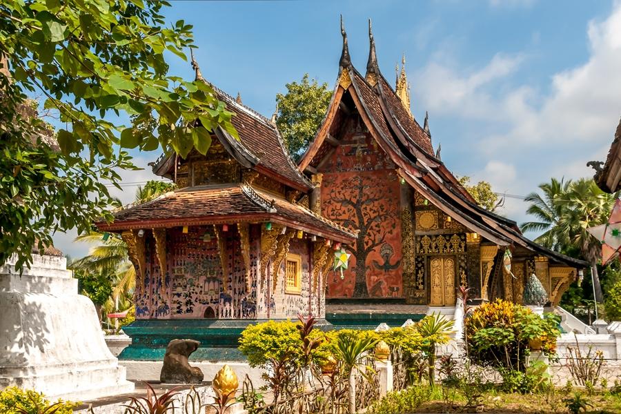 Laos Luang Prabang tempel