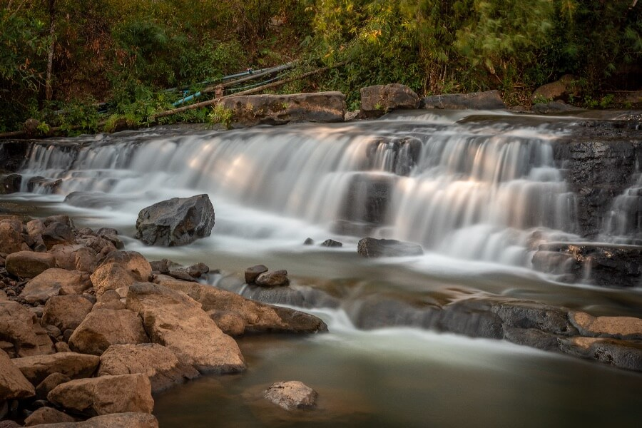Laos Pakse Bolaven Plateau waterval