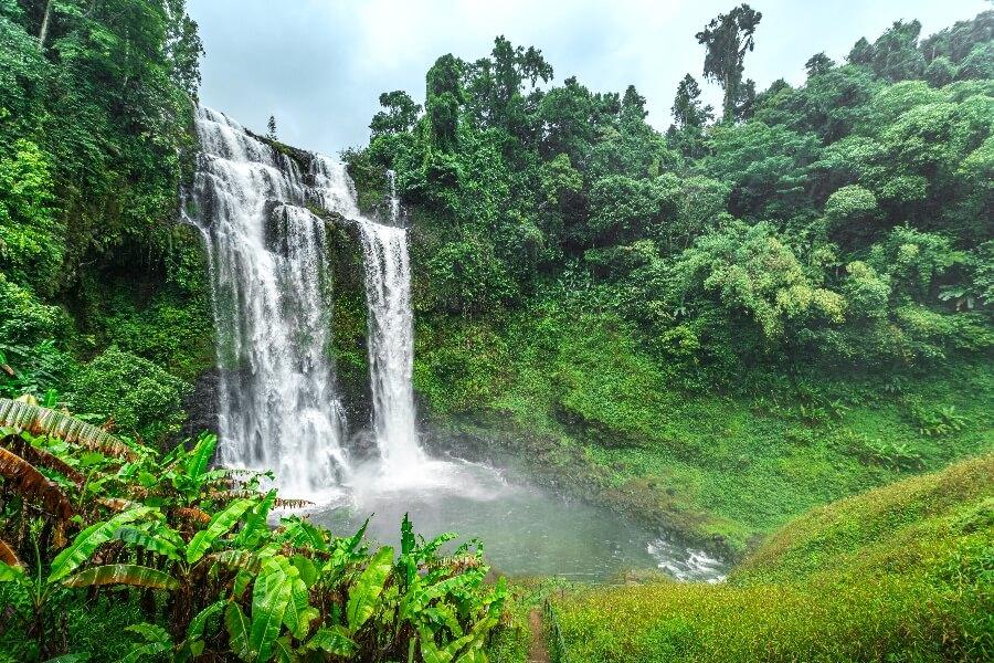 Laos Pakse Bolaven Plateau waterval2