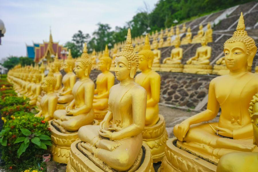 Laos Pakse boedha tempel